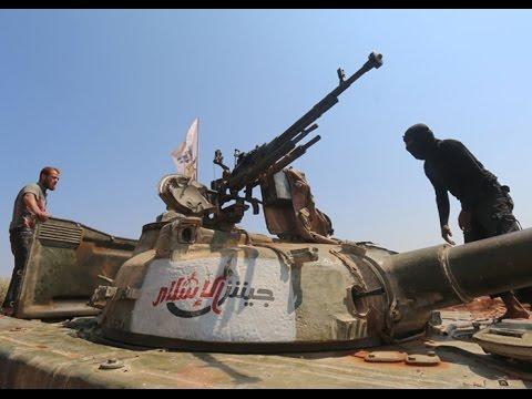 #جيش_الإسلام يعلن معركة القضاء على -هيئة تحرير الشام- في الغوطة الشرقية