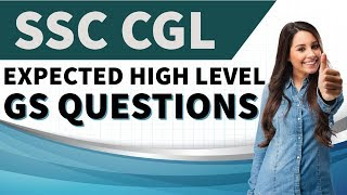 SSC CGL - Expected GS Questions (High Level) Part 1 by Dr Mahipal Singh Rathore