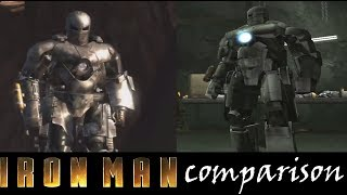 IRONMAN 2008 Game comparison