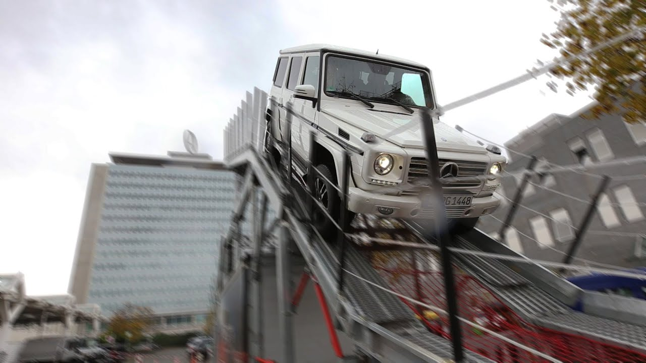 Mercedes benz g klasse iron sch ckl im werk for Mercedes benz iron