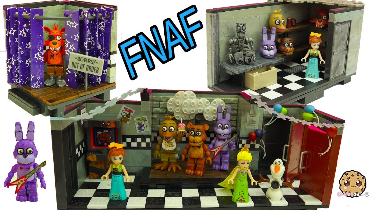 Office 2016 Kopen Five Nights At Freddy S Fnaf Show Stage Office Playsets Lego Surprise Blind Bags
