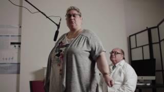 Patiente ayant une fibromyalgie avancée (en 2015, elle était sur un fauteuil roulant)