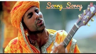 Sorry Sorry   Akshay Kumar   BHOJPURI SONG   Pawan Singh, Kajol Raghwani