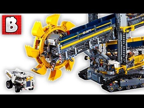 Biggest Lego Technic Set Ever!!! Bucket Wheel Excavator 42055 | Unbox Build Time Lapse Review