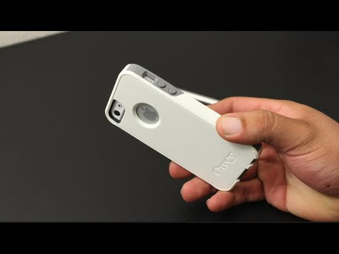 purchase cheap 408d7 77ee2 Otterbox Commuter Series For The iPhone 5 (White / Gunmetal Grey ...