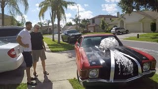 Son Gives Dad Dream Car For His Birthday