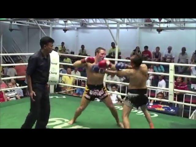 #ThrowbackThursday: Brad Riddell comeback KO after illegal kick