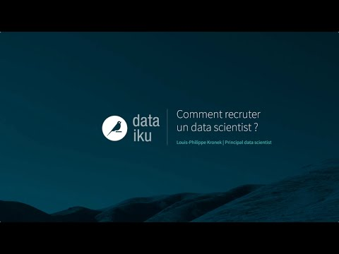 Comment recruter un data scientist ?