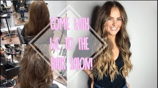 COME WITH ME TO THE HAIR SALON!