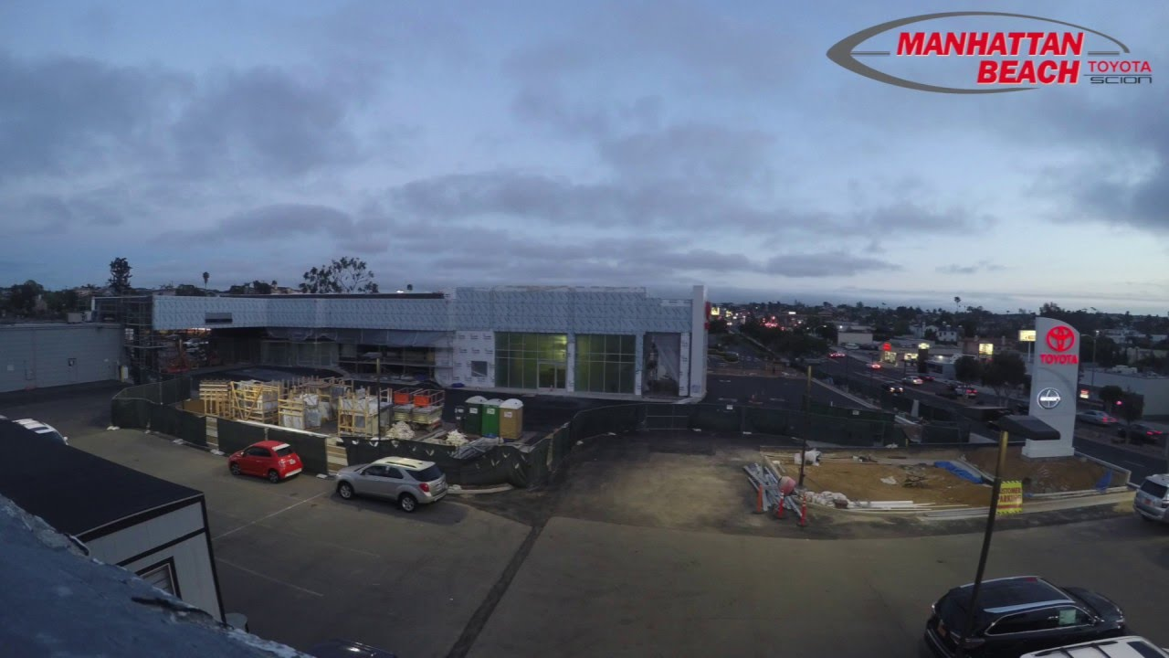 Manhattan Beach Toyota Construction Update  Time Lapse
