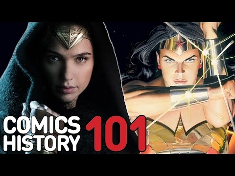 Wonder Woman - Comics History 101