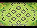 """Th10 Farm Base """"the Pod"""" Post-update - 275 Walls - Clash Of Clans"""