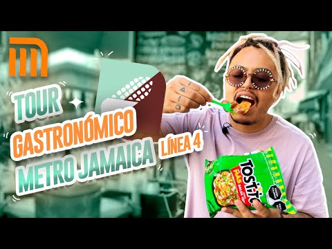 TOUR GASTRONÓMICO METRO JAMAICA (LÍNEA 4) - Lalo Elizarrarás.