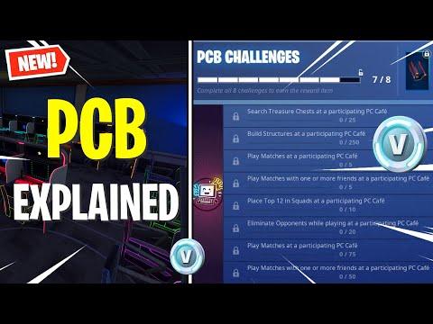 The Fortnite PCB Challenges Explained! (Korea PC Bang)