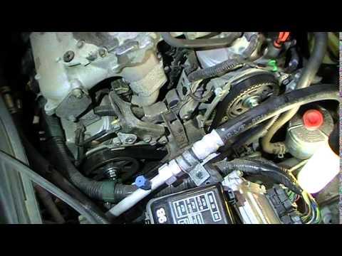Beautiful 2005 Honda Pilot 3.5 Timing Belt Waterpump Removal Time Lapse