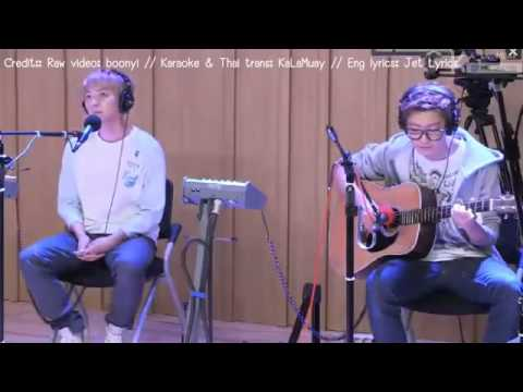 Thaisub & Karaoke] EXO   130808 Youngstreet BAEKHYUN CHANYEOL   Love Song