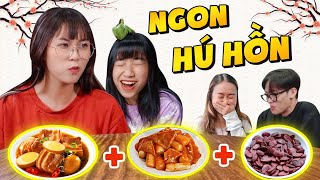 Misthy processing tokbokki, rice paper mixed into incredible new products ?! || FOOD CHALLENGE
