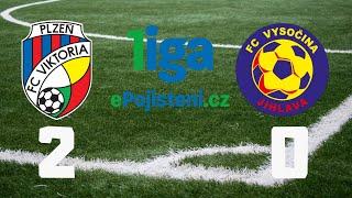 FC Viktoria Plzeň vs FC Vysočina Jihlava liga.epojisteni.cz 2016-17