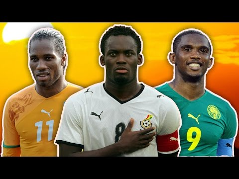 Greatest African Footballers XI | Drogba, Essien, Eto'o!