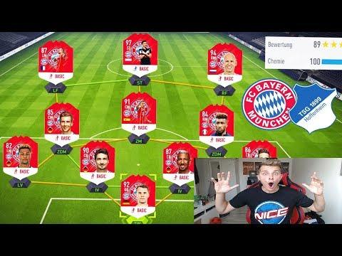 Wer Wird BUNDESLIGA Meister? BAYERN Vs. HOFFENHEIM Fut Draft Challenge! - Fifa 18 Ultimate Team
