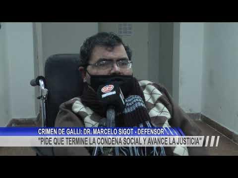 """Dr. Marcelo Sigot: """"Apelamos la decisión de que Castillo esté en la UP3"""""""