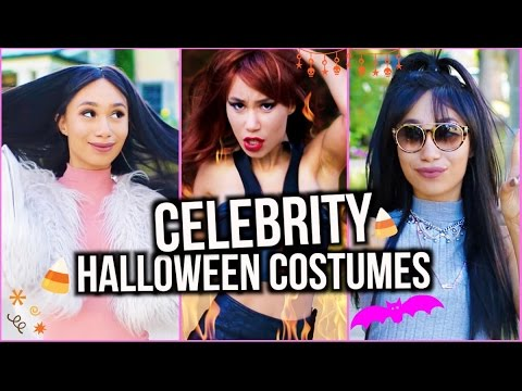 5 celebrity halloween costume ideas ariana taylor kim and kylie - 5 Girl Halloween Costumes