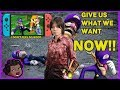Nintendo Switch -  Port Begging And Daddy Sakurai - Smash Bros Ultimate  - Casualverse