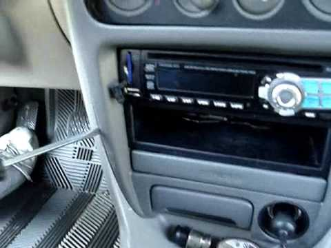 2002 Toyota Corolla Stereo How To - YouTube
