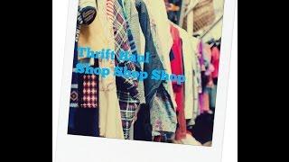 Thrift Haul: Goodwill, Thrift Store.... Thumbnail
