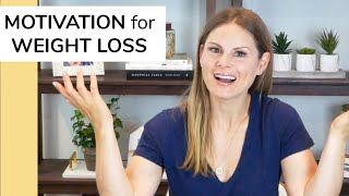 HOW TO STAY MOTIνATED TO LOSE WEIGHT