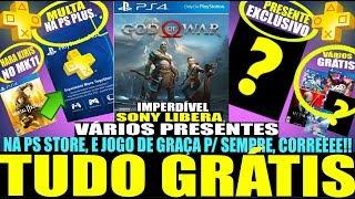 É A HORA! VÁRIOS GRÁTIS NO PS4, VAZAMENTOS DO PS5, MULTA NA PS PLUS E+ (Noticias PS4/PS5 - 2019)