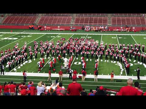 Rutgers University Marching Band postgame (partial) Boogie Woogie Bugle Boy