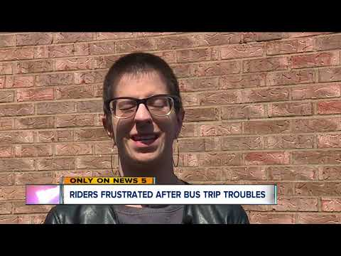 Worst Greyhound bus ride ever departs Cleveland for New York hours late and winds up in Toledo