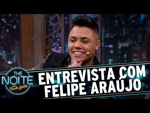 Entrevista com Felipe Araújo  The Noite 070617
