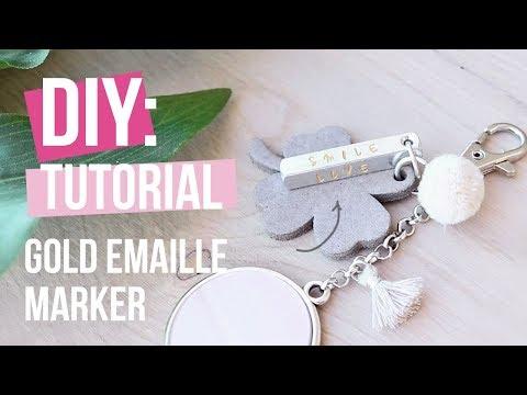 Sieraden maken: ImpressArt sleutelhanger ♡ DIY