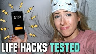 Testing 5 LIFE HACKS for MOTIVATION in 2019… What ACTUALLY Worked??