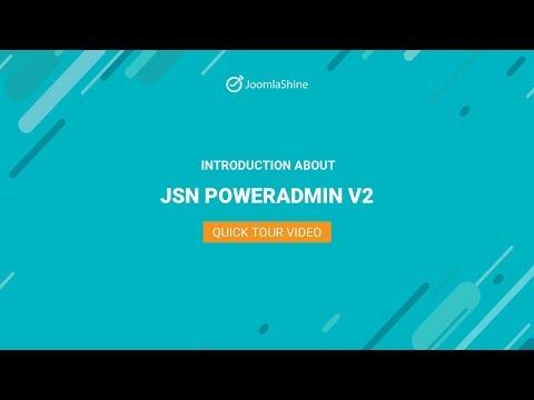 JSN PowerAdmin 2 Quick Tour   Joomla Extension Video
