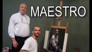 Exclusive Interview with Master Painter Michael John Angel. Cesar Santos vlog 058
