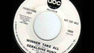 Northern Soul - Geraldine Hunt- Winner Takes All