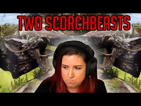 I Ran Into Two Scorchbeasts (Fallout 76)
