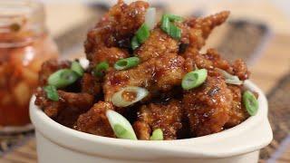 Korean Style Popcorn Chicken