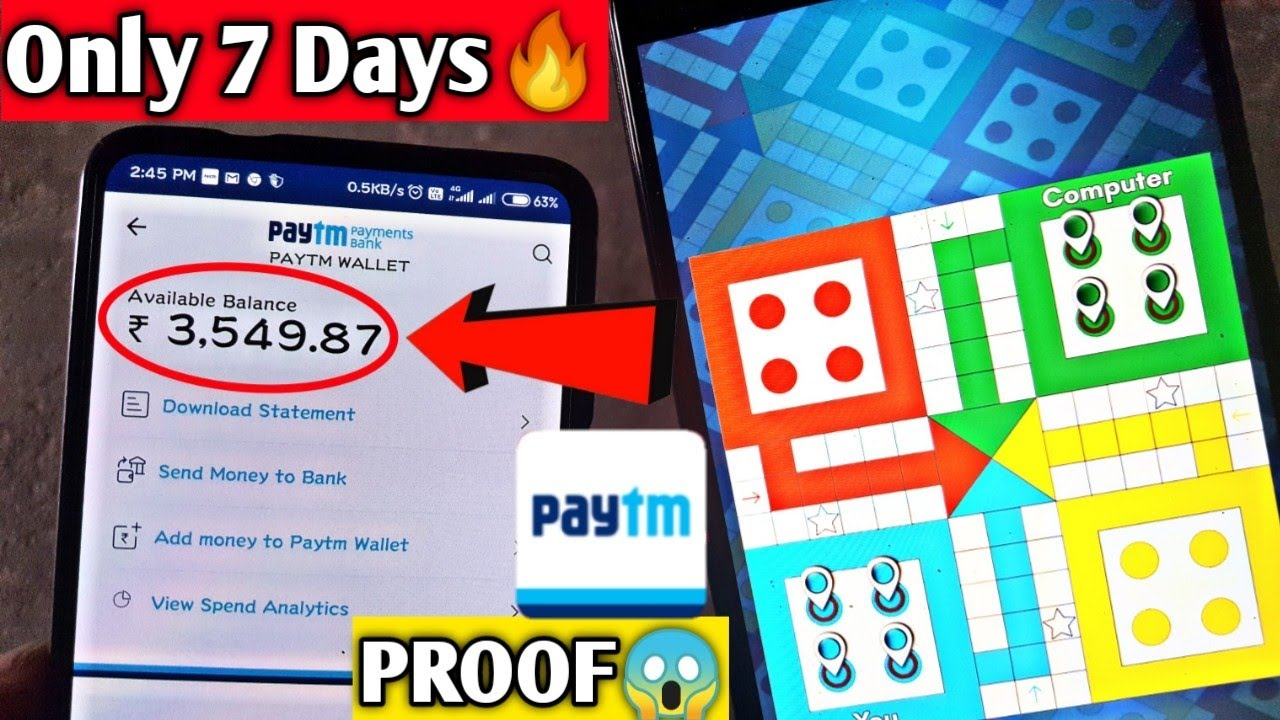 2019 Top 3 Earning App Play Ludo And Earn Money Earn