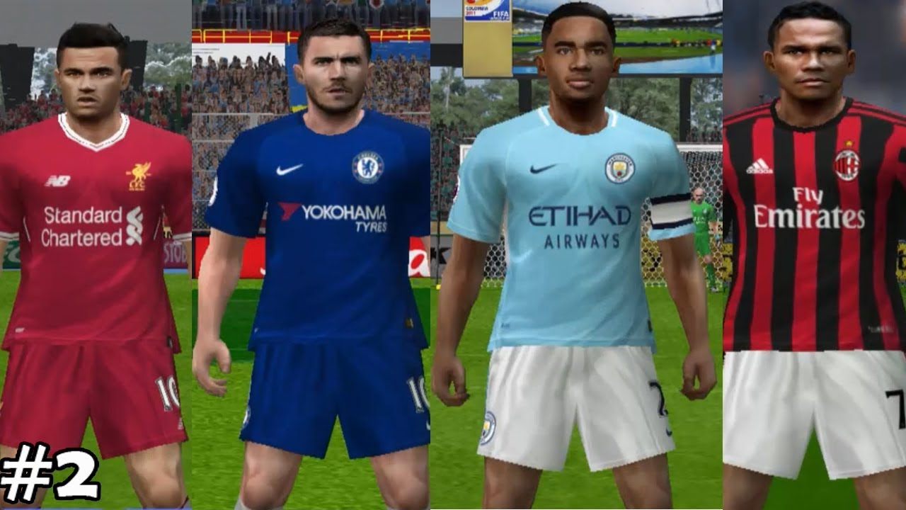be747e0f162 PES6] - #2 Kits 2017/2018 - Liverpool, Chelsea, Manchester City, Etc ...