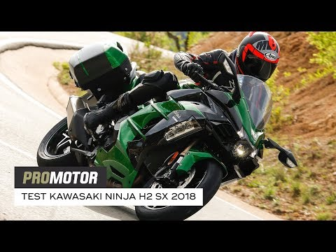 Kawasaki Ninja H2 SX 2018 - test Promotor