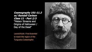 Cosmography 101-11.2: Epochellipse/Kataklysmos/Ekpyrosis w/ Casual Randall Carlson (2007)