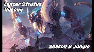League of Legends: Lancer Stratus Wukong Jungle Gameplay