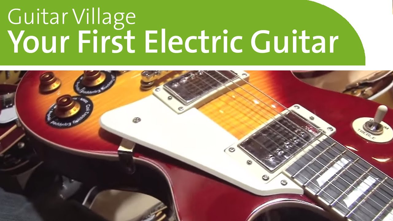 ing your first electric guitar best guitars for beginners