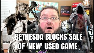 """Bethesda Blocks Sale of Unopened """"used"""" copy of Evil Within 2"""