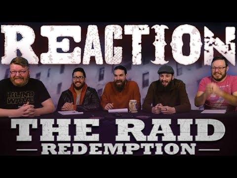 The Raid: Redemption MOVIE REACTION!!