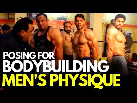 Posing For Men's Physique & Bodybuilding